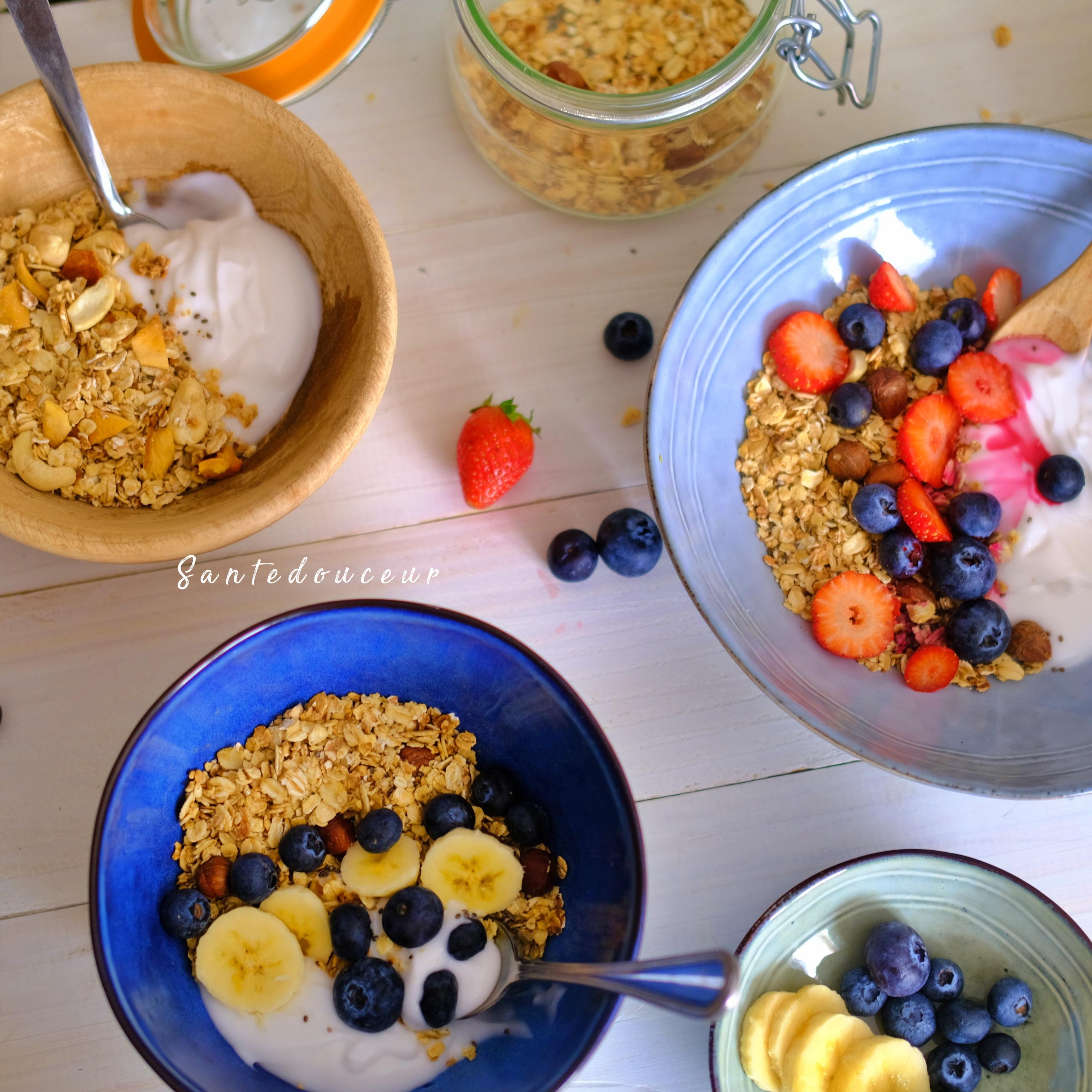 DIY : Granola sans gluten d'été